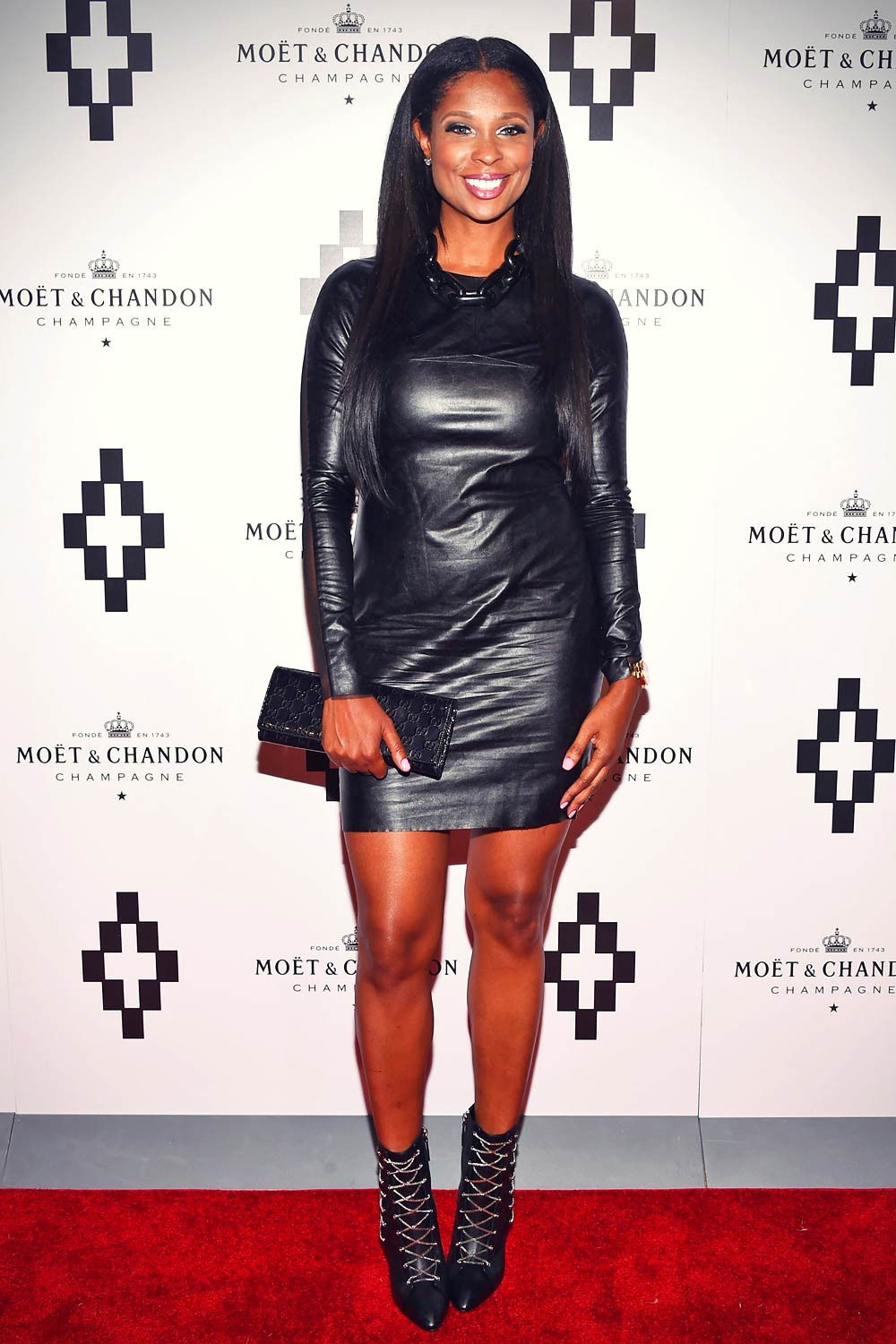 Jennifer Williams attends the Moet Nectar Imperial Rose x Marcelo Burlon Launch Event
