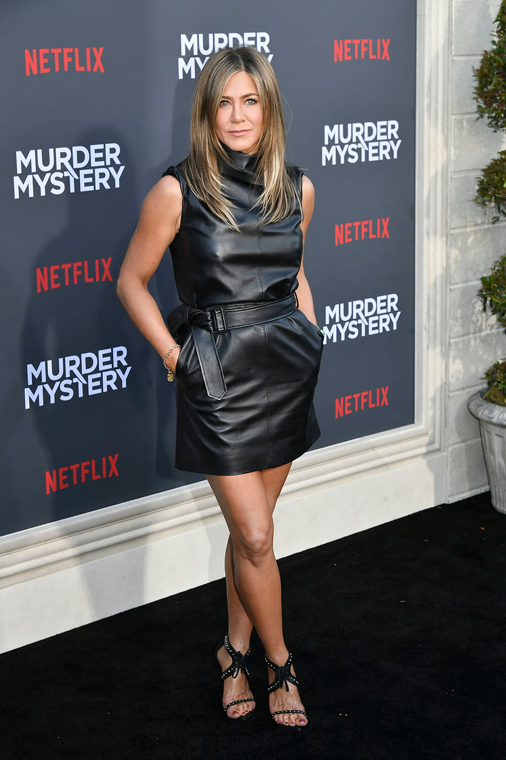 Jennifer Aniston attends Film Premiere Murder Mystery