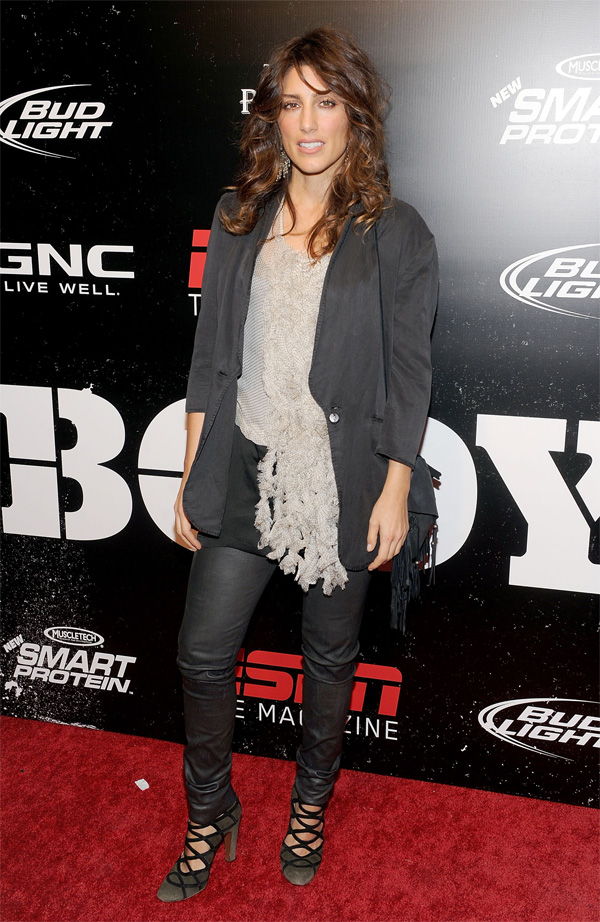 Jennifer Esposito The Cinema Society & Mens Health Host A Screening Of The Fighter To Benefit The Ci