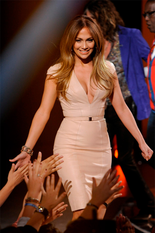 Jennifer Lopez at American Idol