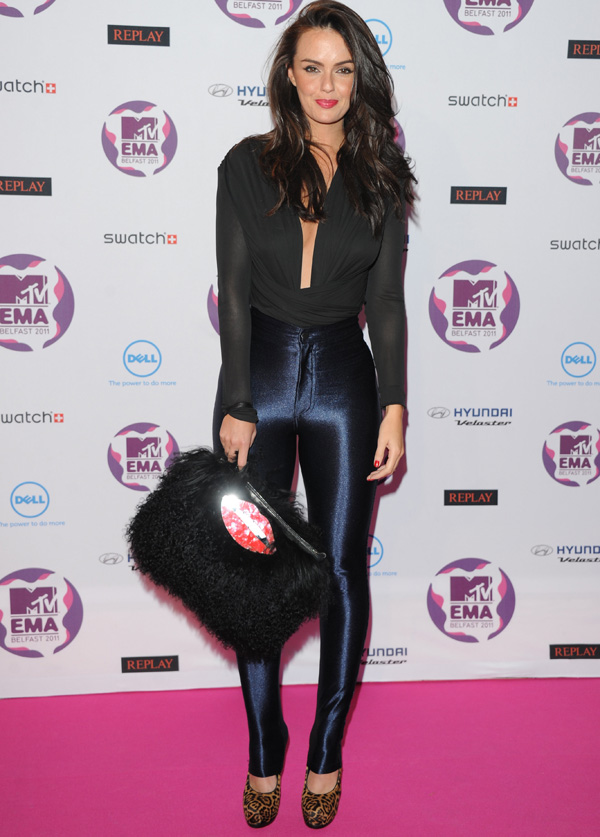 Jennifer Metcalfe at MTV Europe Music Awards 2011