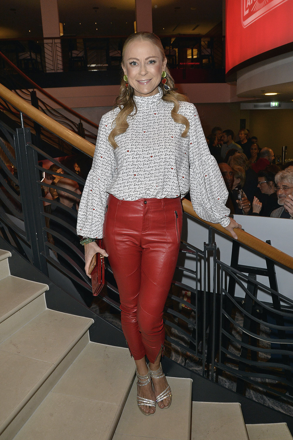 Jenny Elvers attends Pre Dinner Party