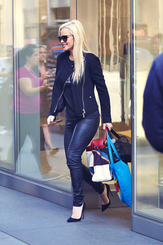 Jenny Mccarthy Leaving The Siriusxm Radio Leather