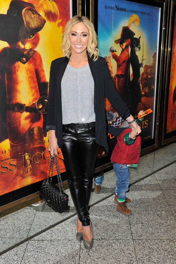Jenny Frost at Puss In Boots Premiere