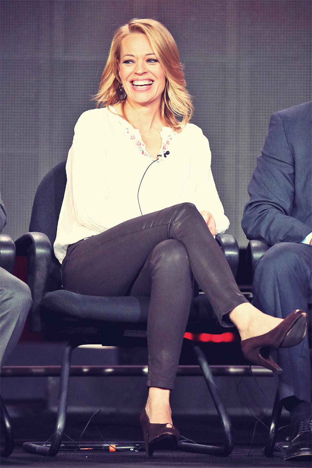 Jeri Ryan Body of Proof panel during 2013 Winter TCA Tour