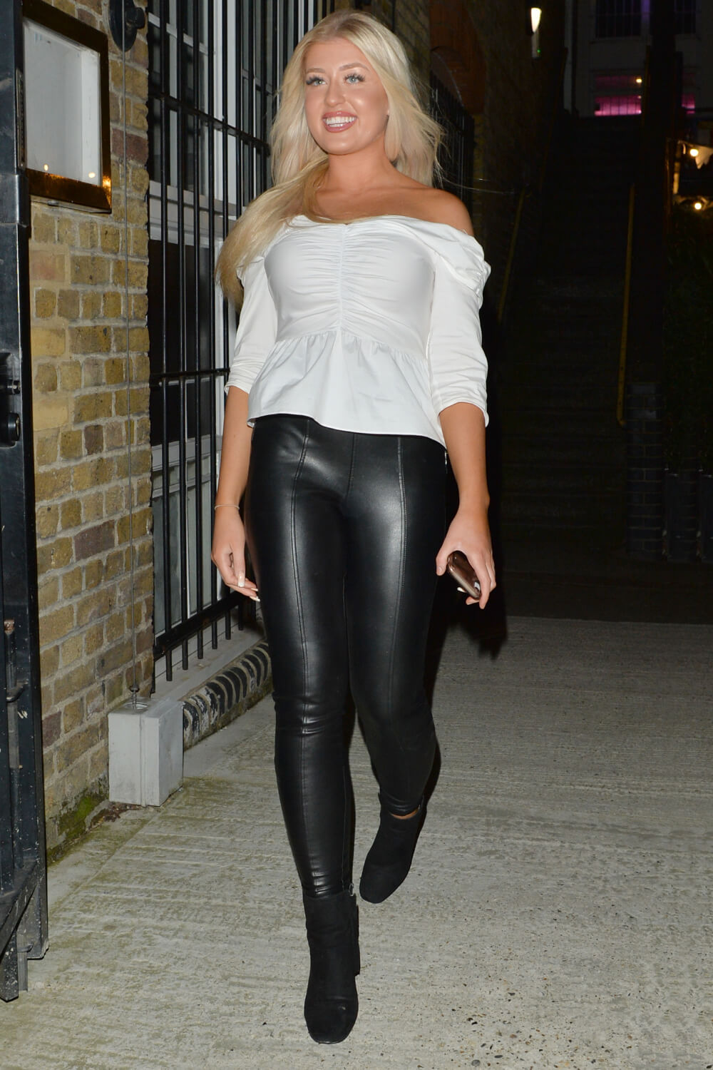 Jess Gale out in London