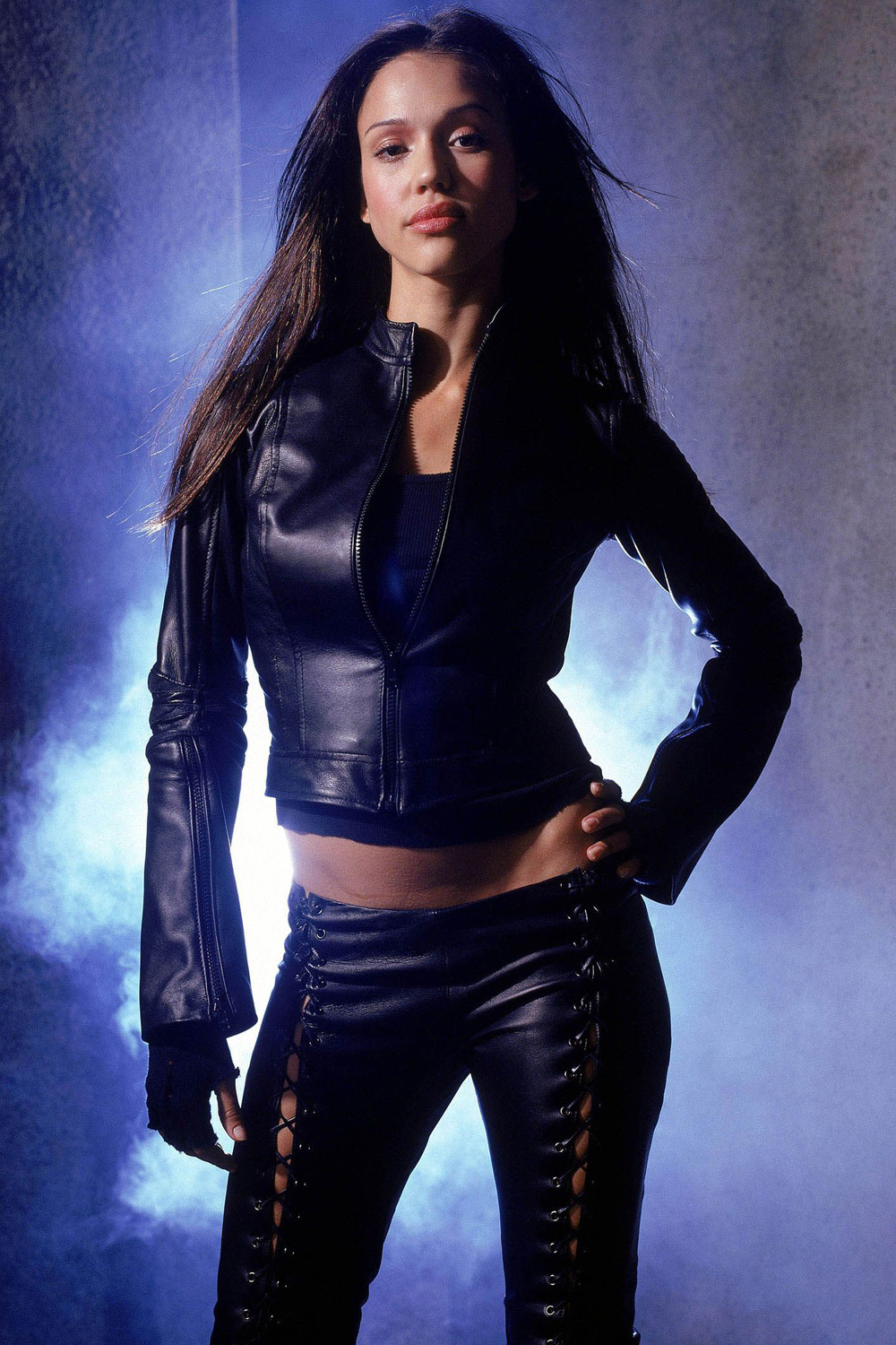Jessica Alba - Dark Angel Photoshoot