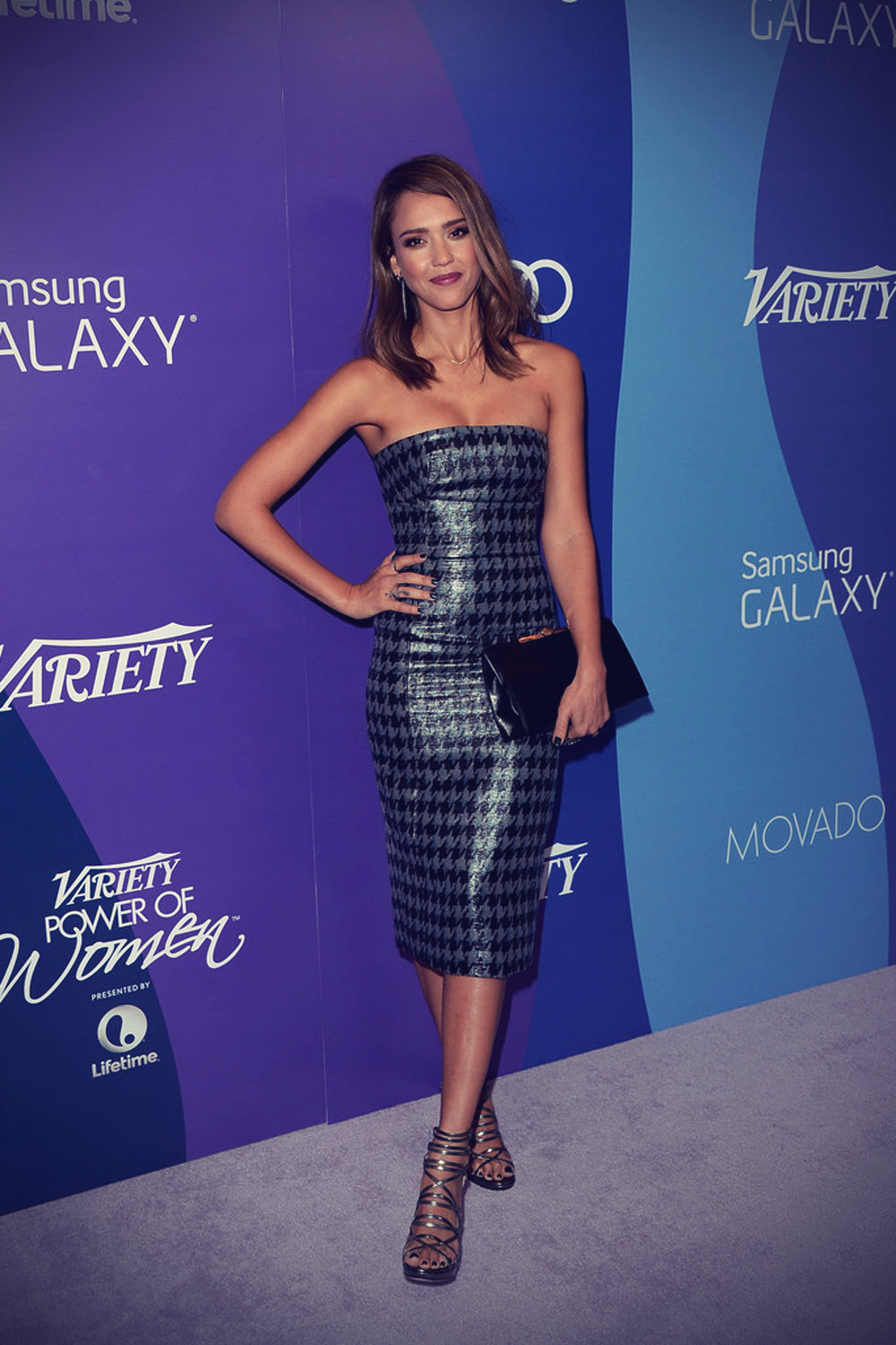 Jessica Alba attends 5th Annual Stars at Variety's Power of Women Event