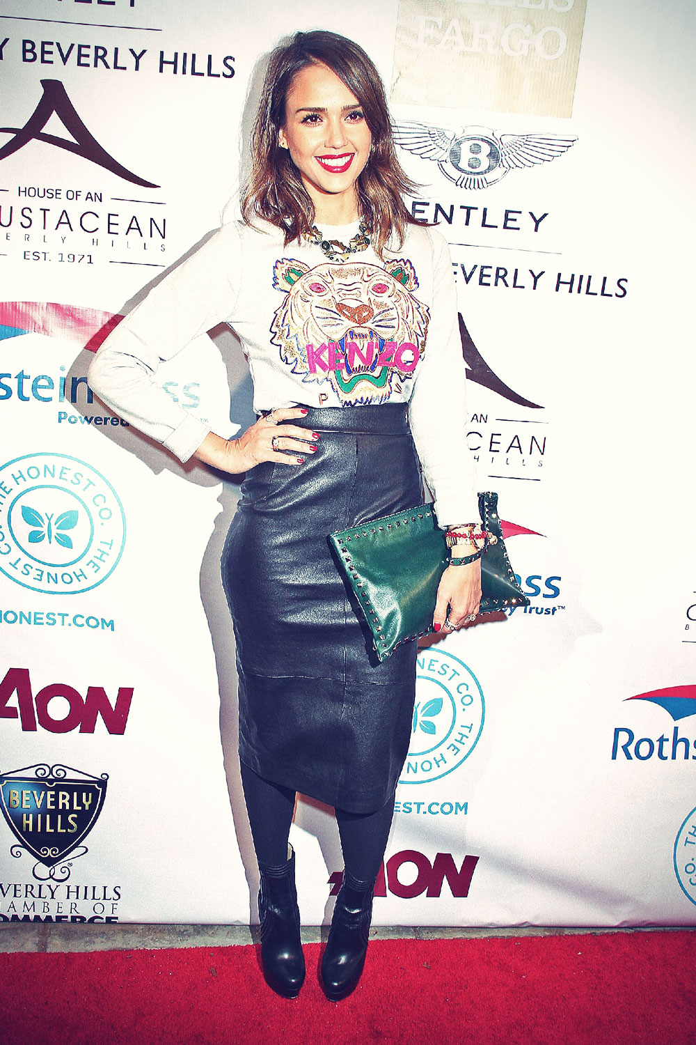 Jessica Alba attends the Beverly Hills Chamber of Commerce