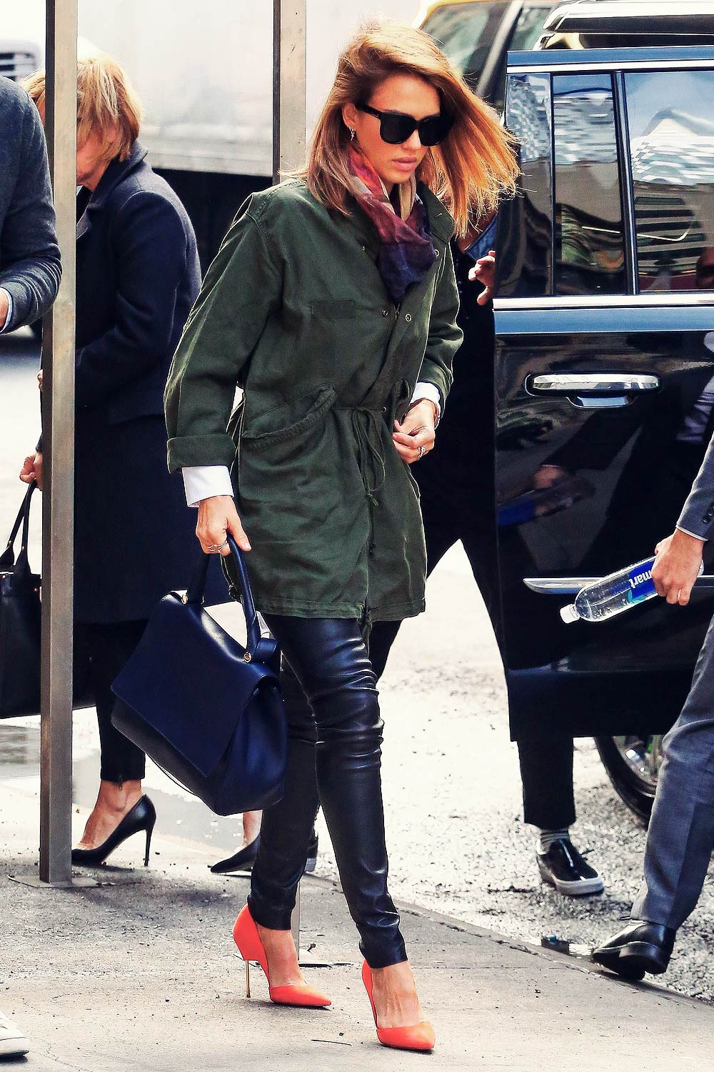Jessica Alba out in NYC
