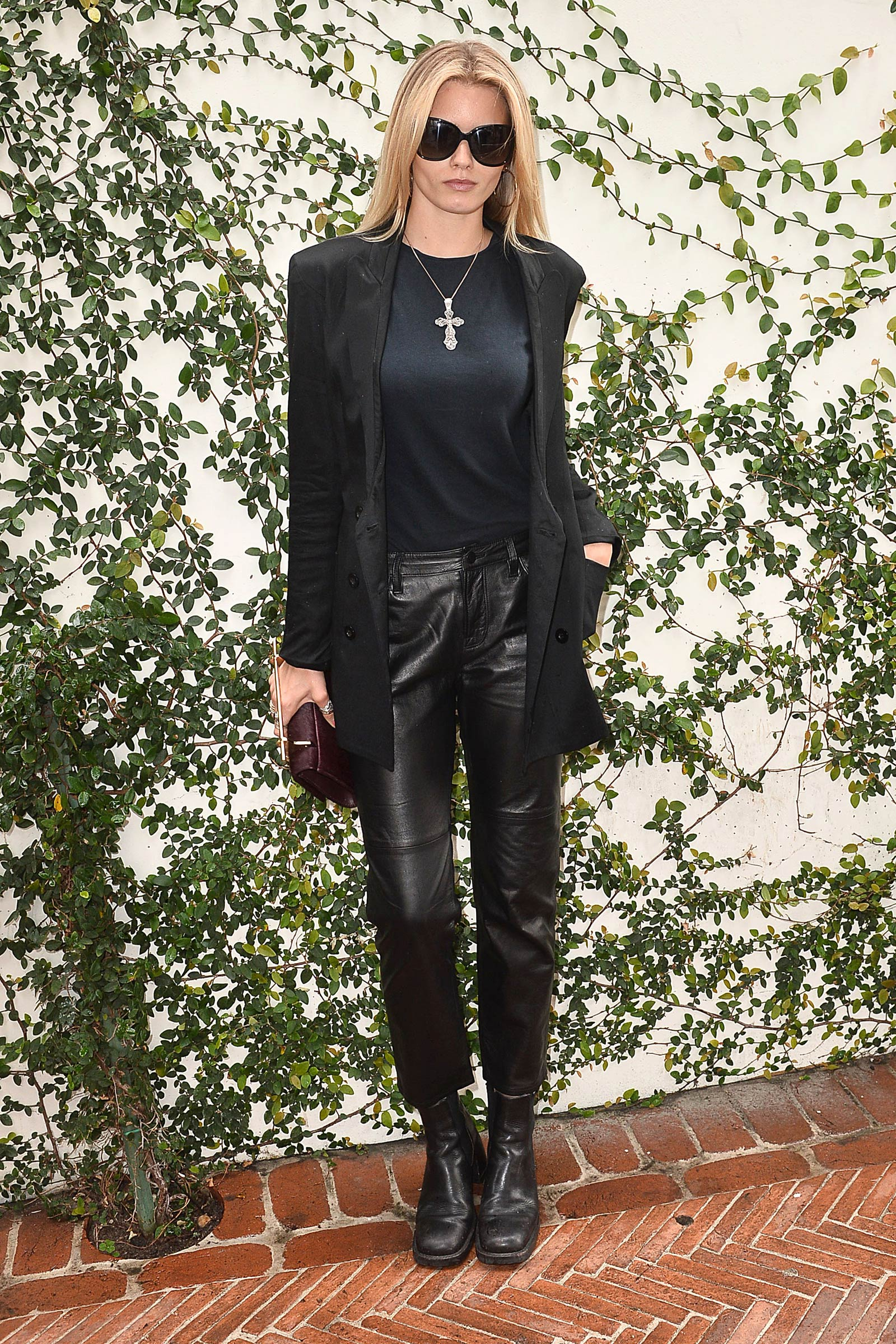 Jessica Hart Attends Lynn Hirschberg Celebrates W S It