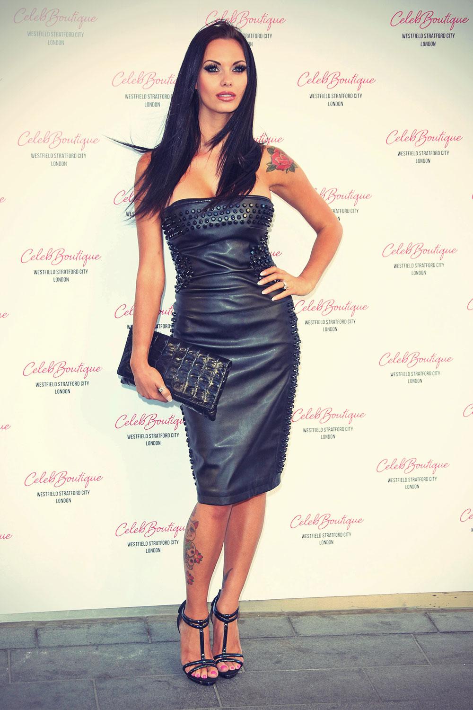 Jessica-Jane Clement attends CelebBoutique store launch party