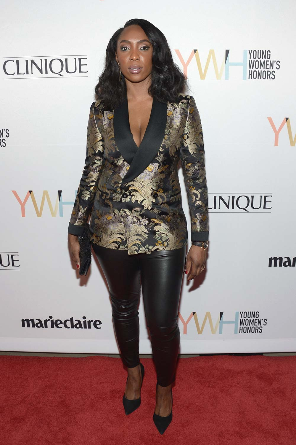 Jessica Matthews arrives at the 1st Annual Marie Claire Young Women's Honors