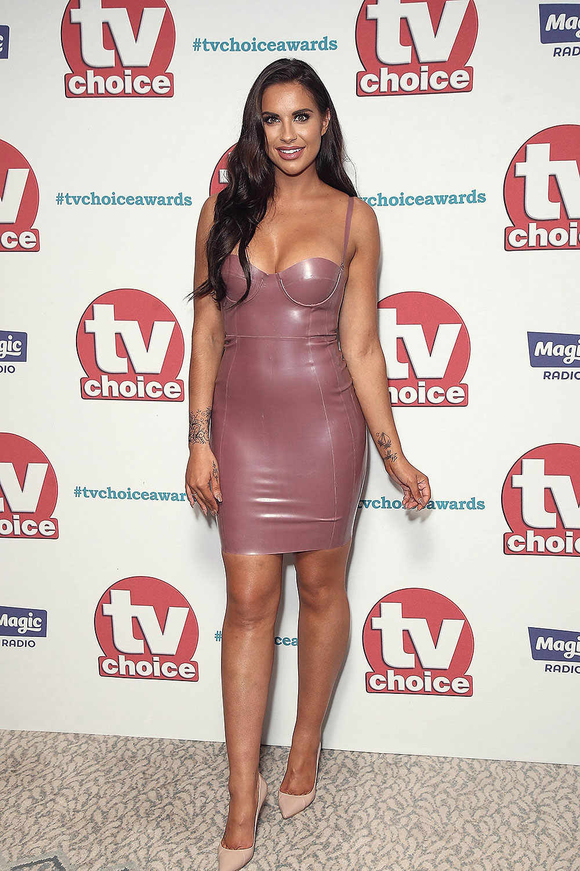 Jessica Shears attends TV Choice Awards