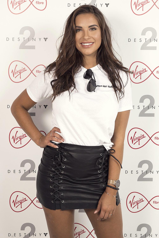Jessica Shears attends Virgin Fibre x Destiny 2 beta event