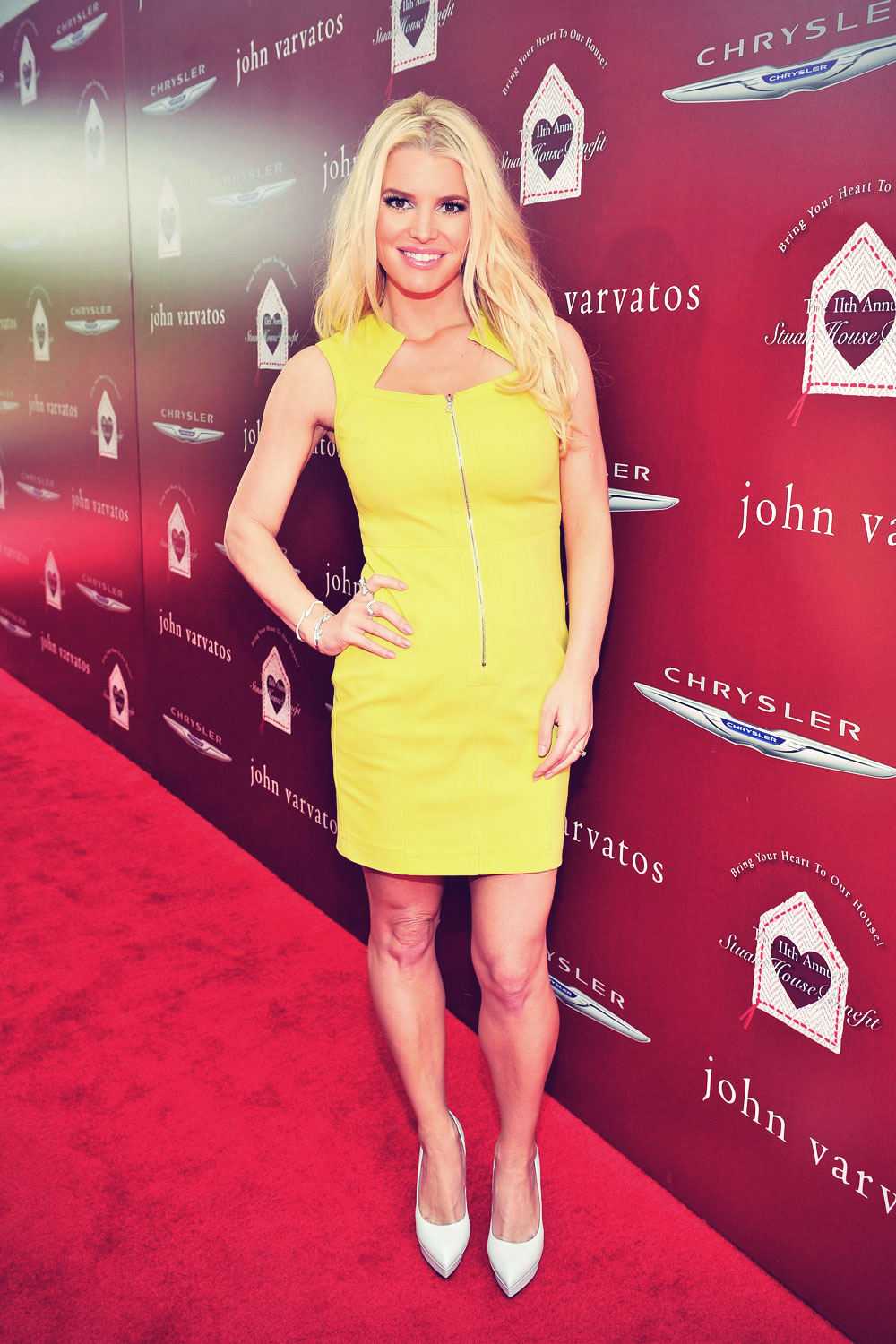 Jessica Simpson attends John Varvatos Stuart House Benefit 2014