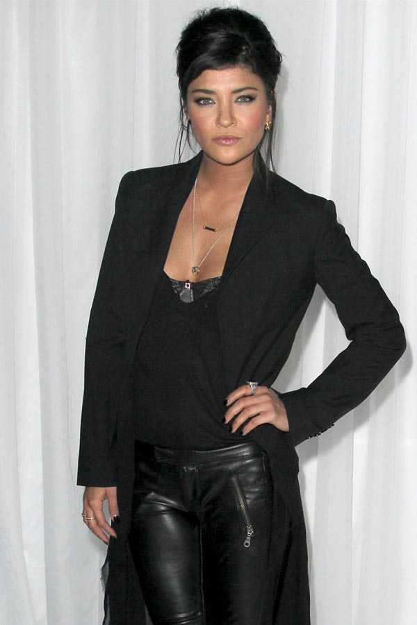 Jessica Szohr at the Sony PlayStationAE PS VITA Launch in LA