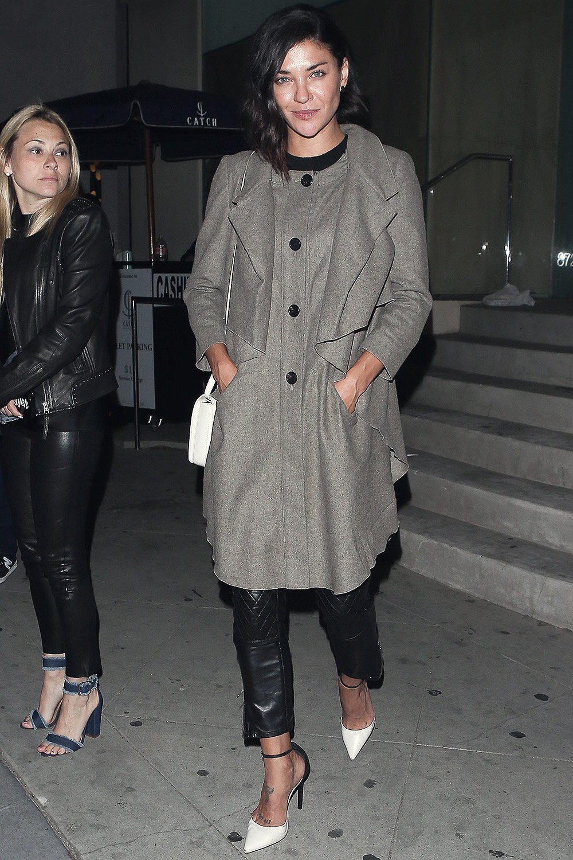 Jessica Szohr seen at Catch LA