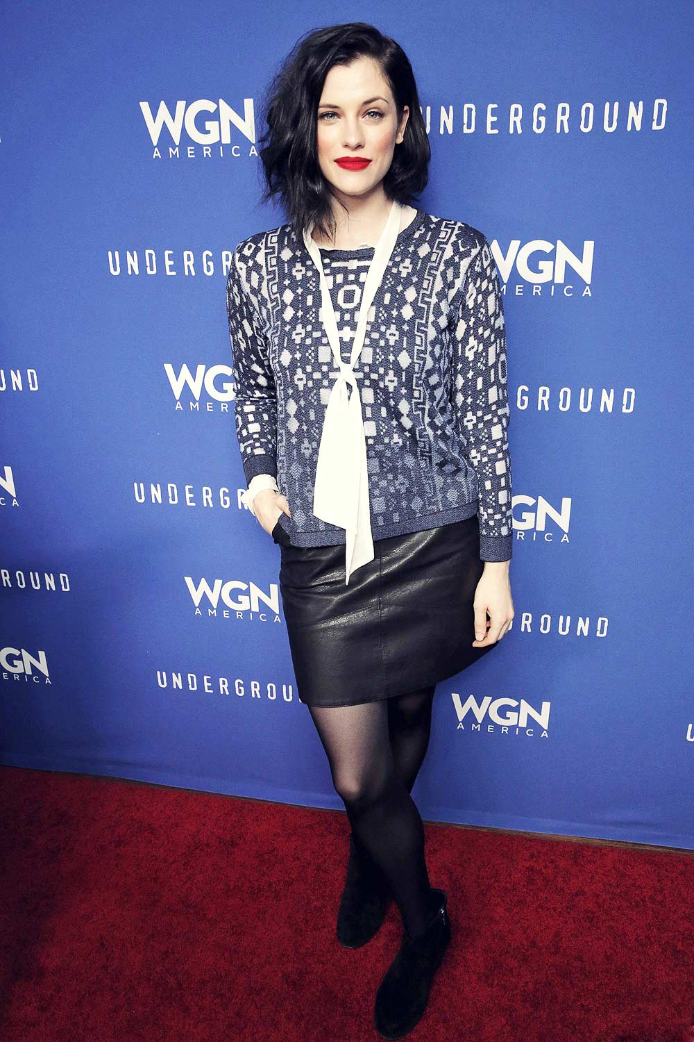 Jessica de Gouw attends Underground Party