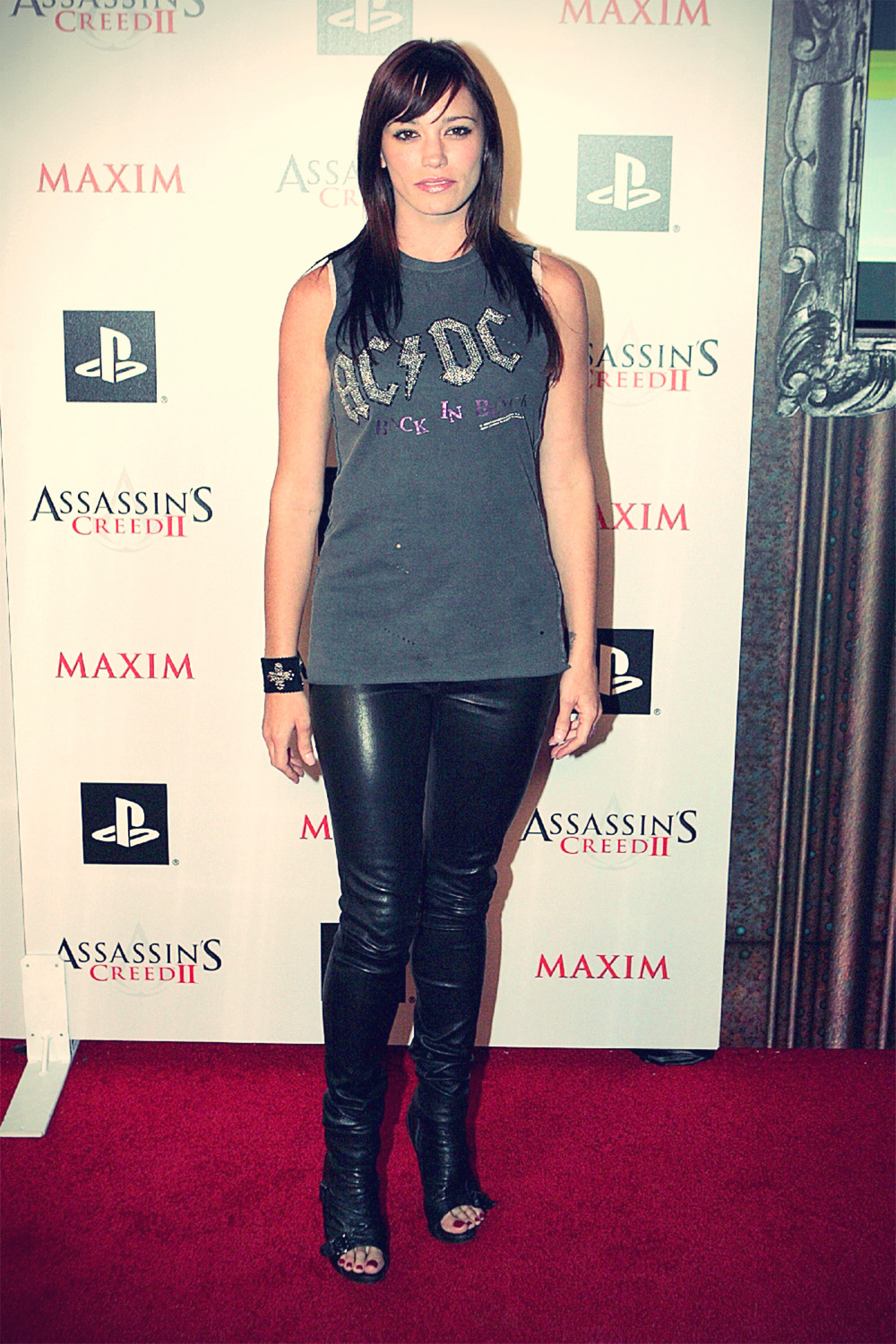 Jessica Sutta at the launch party of Assassins Creed 2