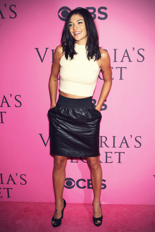 Jessica Szohr at The 2012 Victoria's Secret Fashion Show