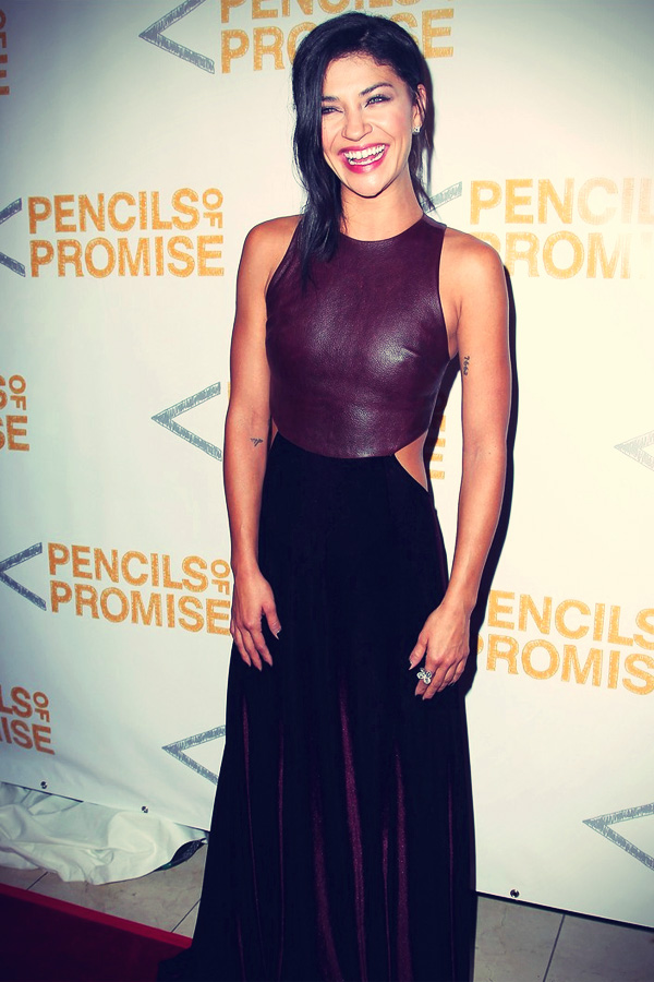 Jessica Szohr attend the 2012 Pencils of Promise Gala