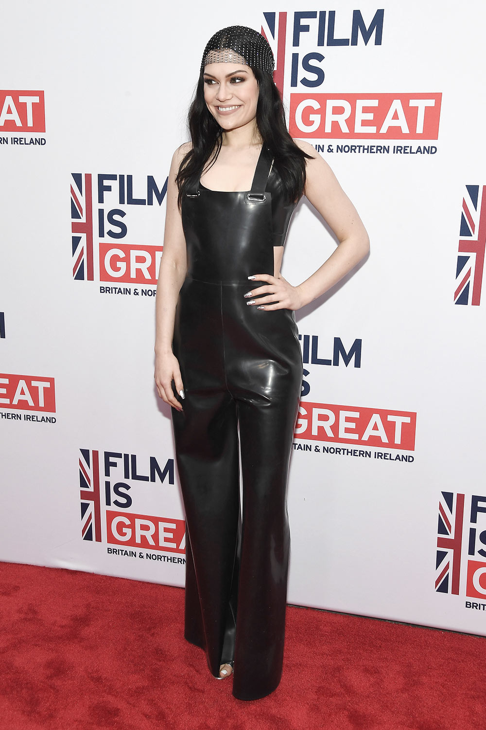Jessie J arrives at The GREAT Film Reception to Honor the British Nominees