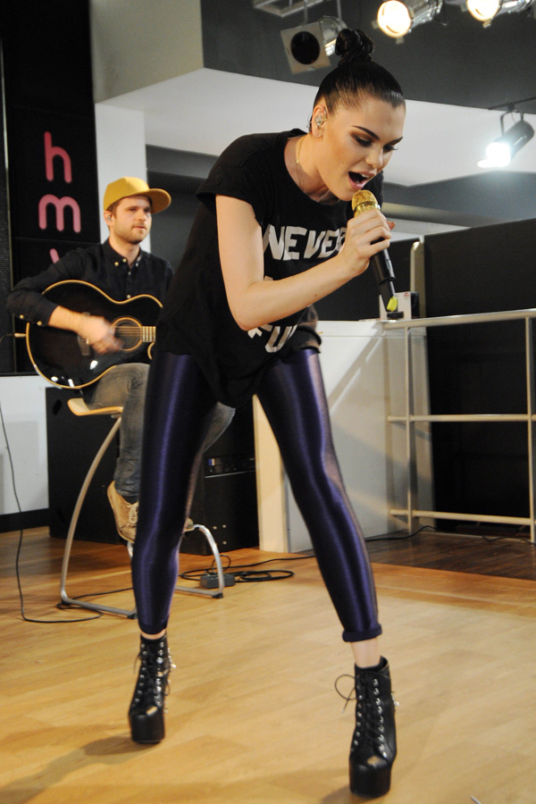 Jessie J at Music Is Great Week
