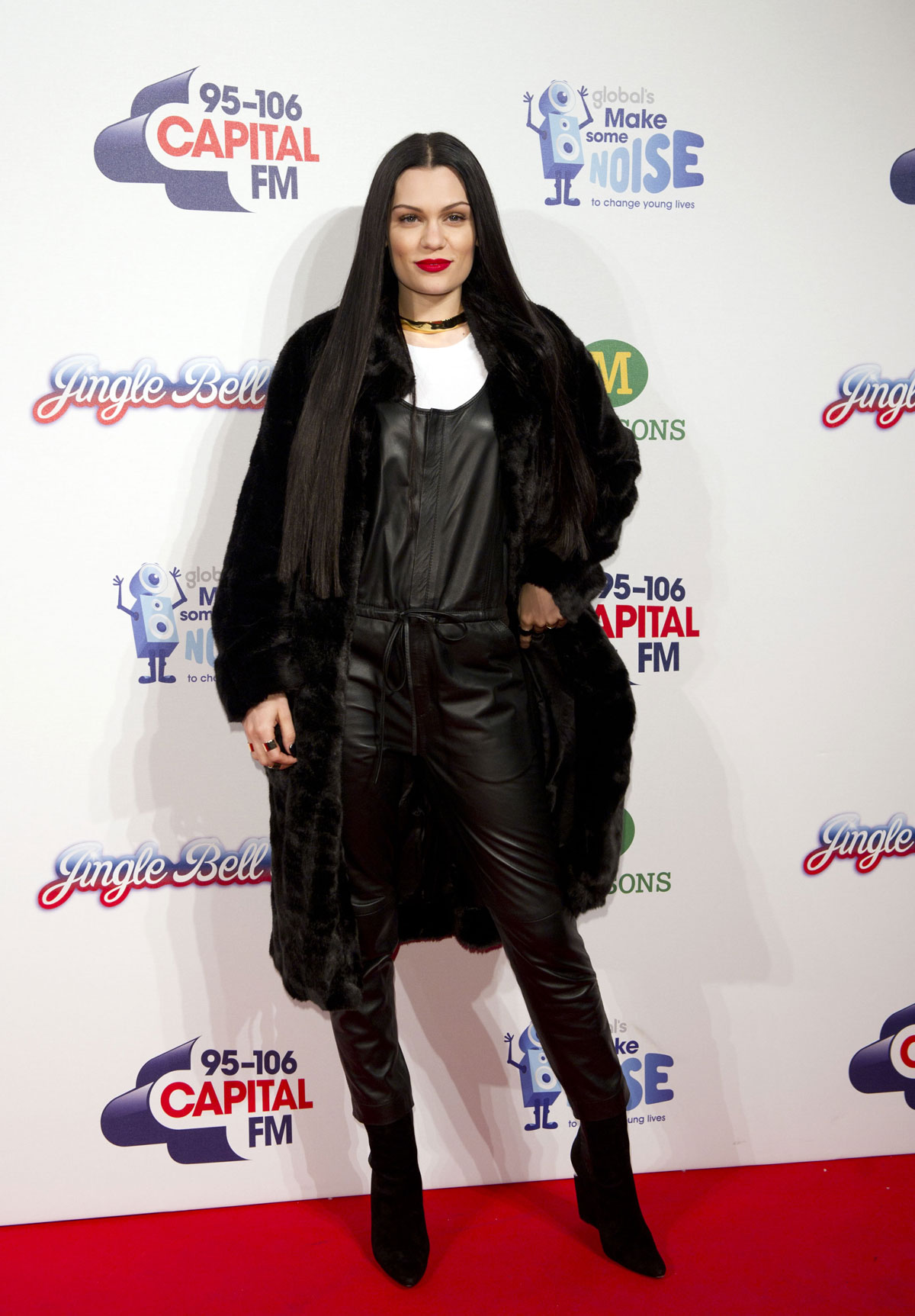Jessie J attends Jingle Bell Ball day 2