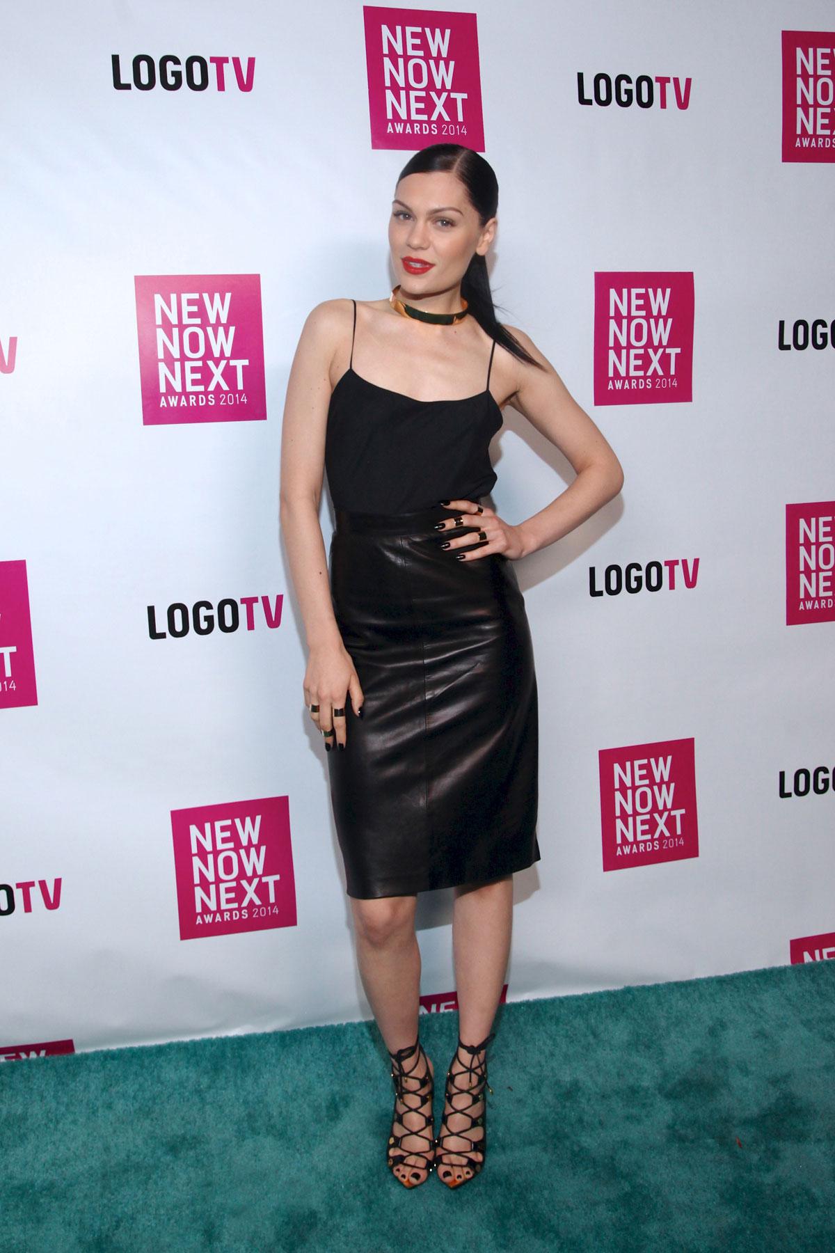 Jessie J attends Logo TV 2014 NewNowNext Awards