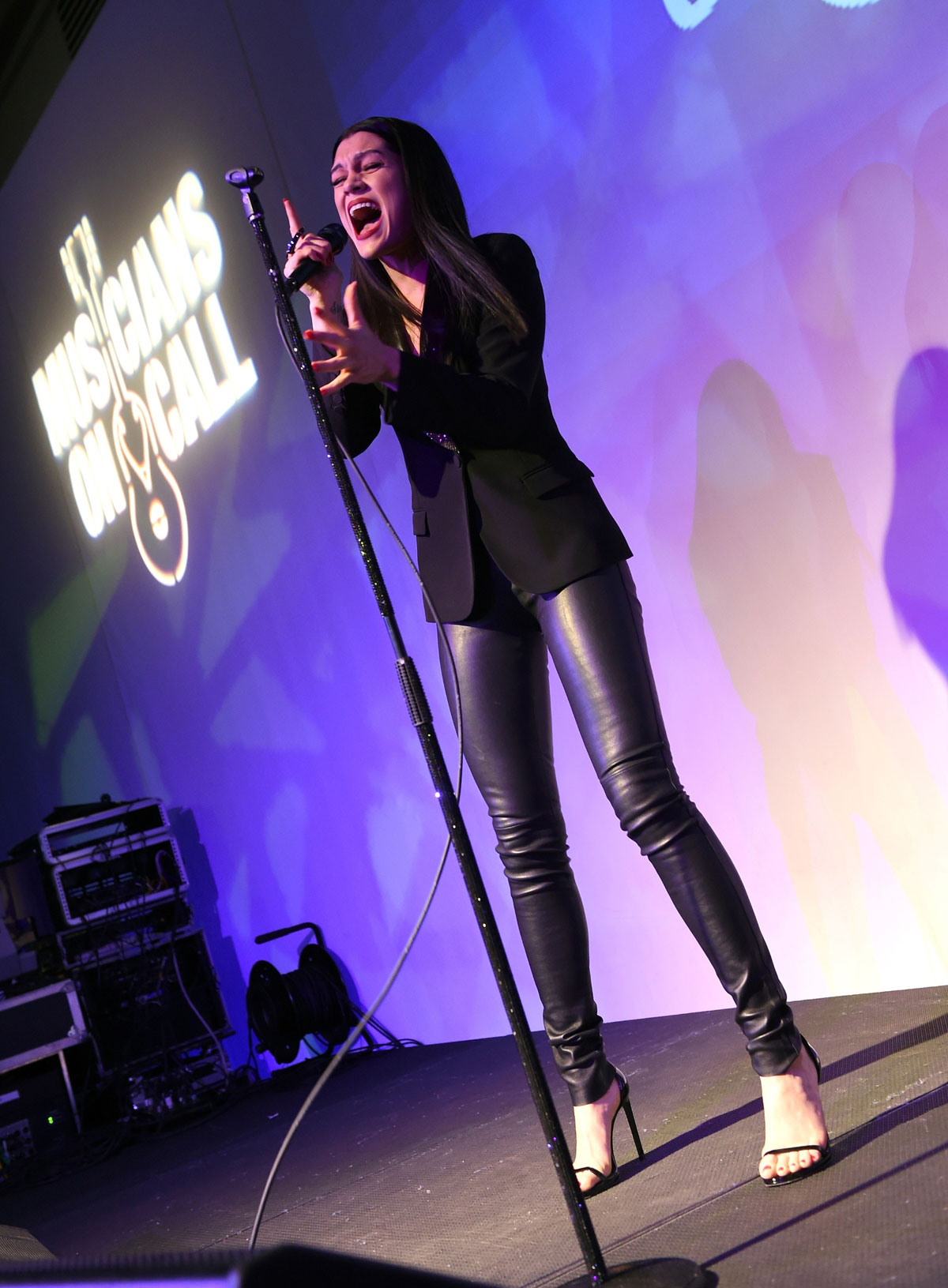 Jessie J Attends Musicians On Call S 15th Anniversary