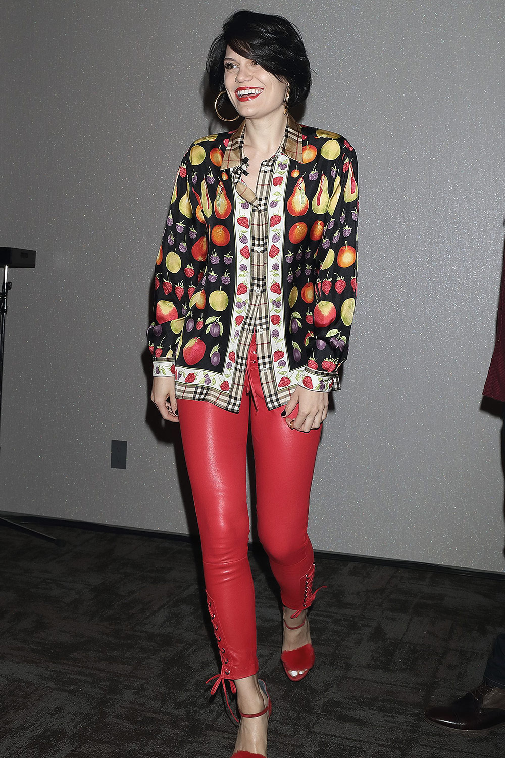 Jessie J attends a photo call and press conference