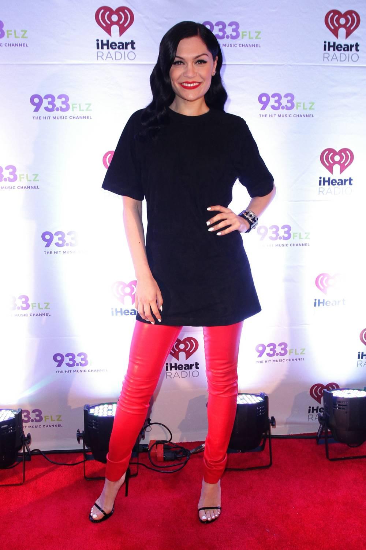 Jessie J attends 93.3 FLZ's Jingle Ball 2014