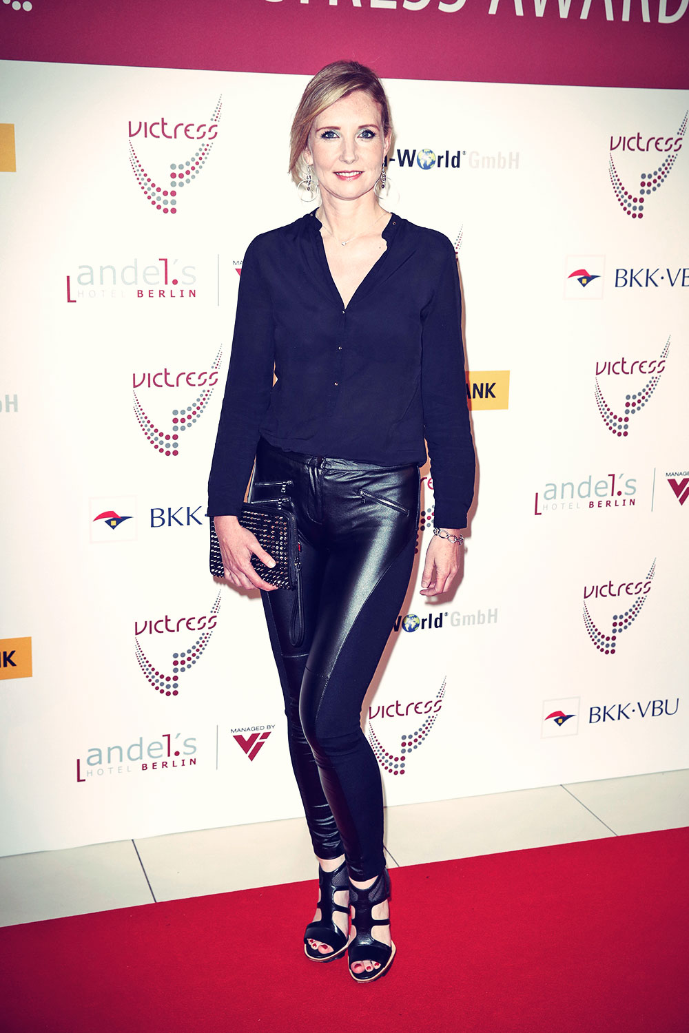 Jette Joop attends the 9th Victress Awards Gala