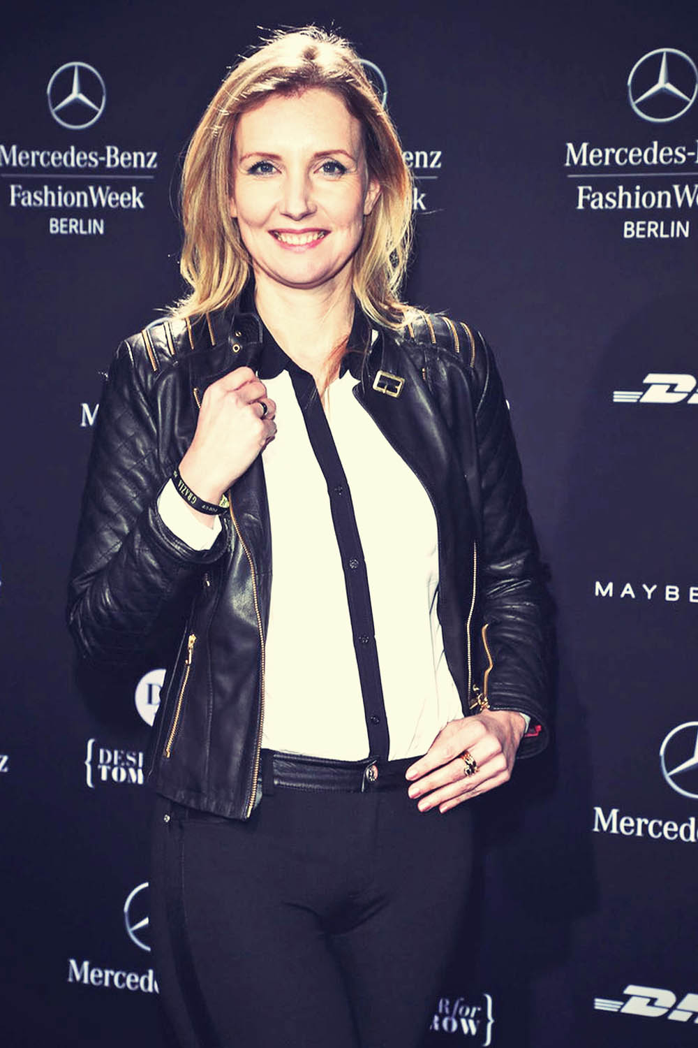 Jette Joop attends Mercedes-Benz Fashion Week Berlin 2013