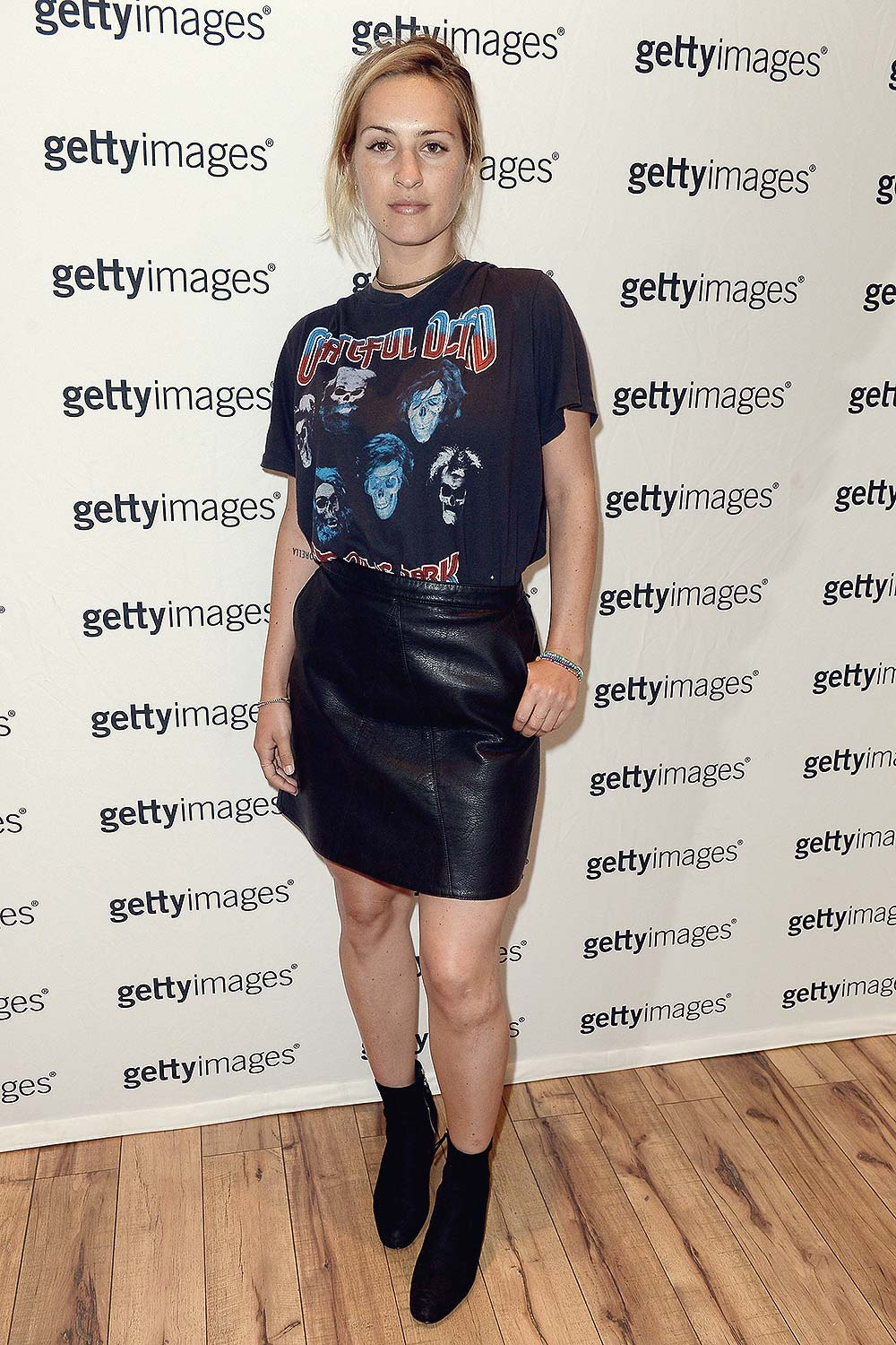 Jill Ferree attends a Patricia Field gathering to discuss her art fashion collection