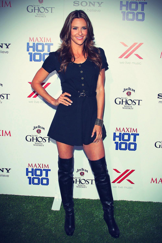 Jill Wagner at Maxim's Hot 100 Celebration