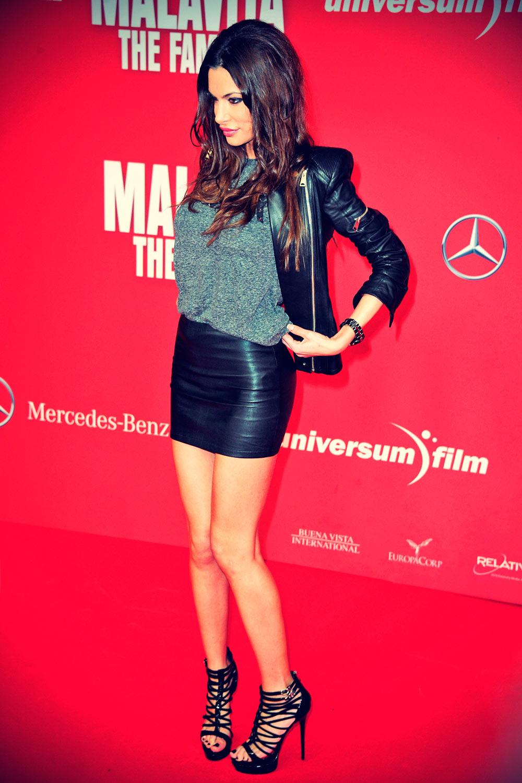 Joanna Tuczynska attends Malavita The Family premiere
