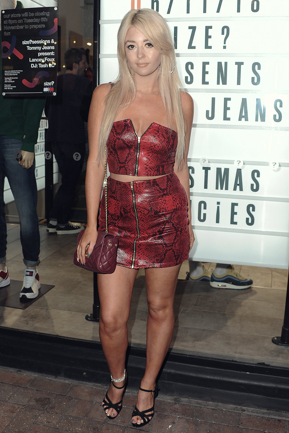 Jodie Weston attends Tommy Jeans Icon 6.0 sneaker launch party
