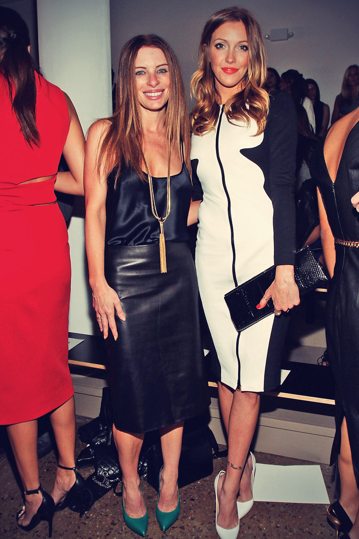 Joey Tierney attends Cushnie Et Ochs Spring 2014 fashion show
