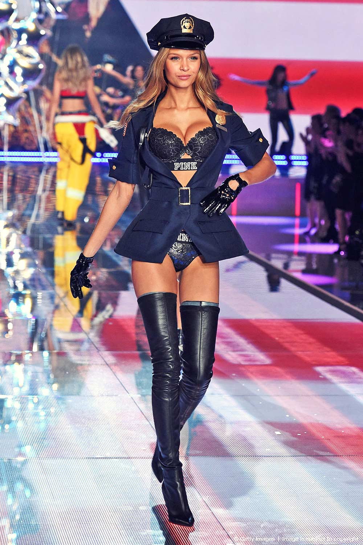 Josephine Skriver Runway 2015 Victoria's Secret Fashion Show