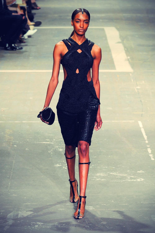 Jourdan Dunn at New York Fashion Week