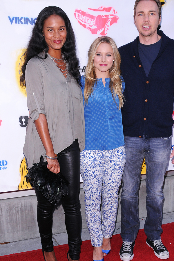 Joy Bryant at Hit and Run screening