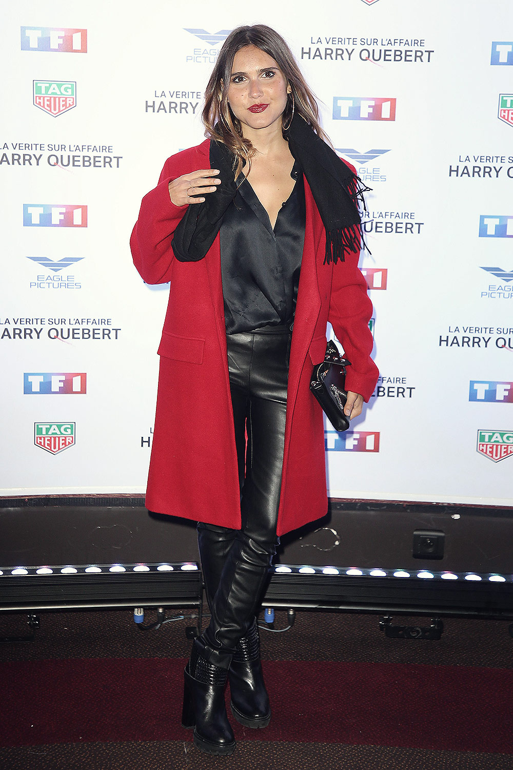 Joyce Jonathan attends The Truth About The Harry Quebert Affair preview