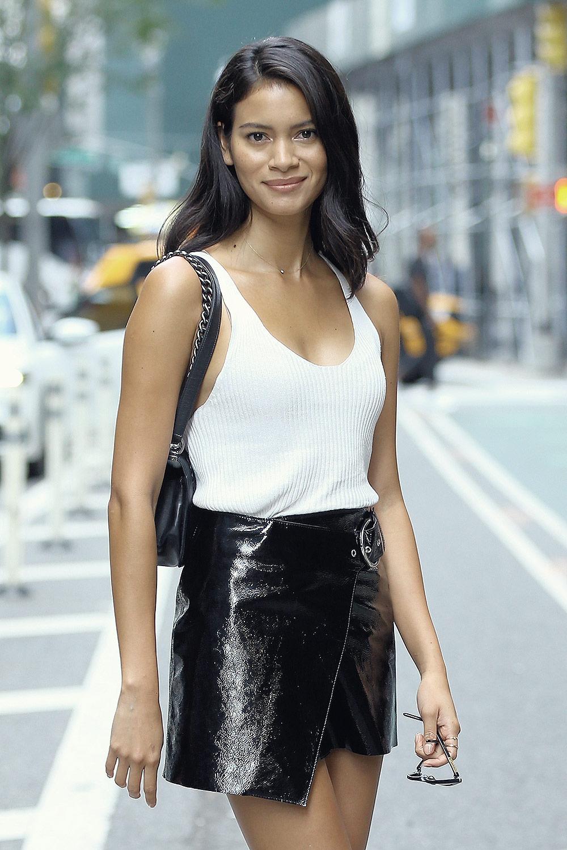 Juana Burga attends Casting Call for the Victoria's Secret Fashion Show