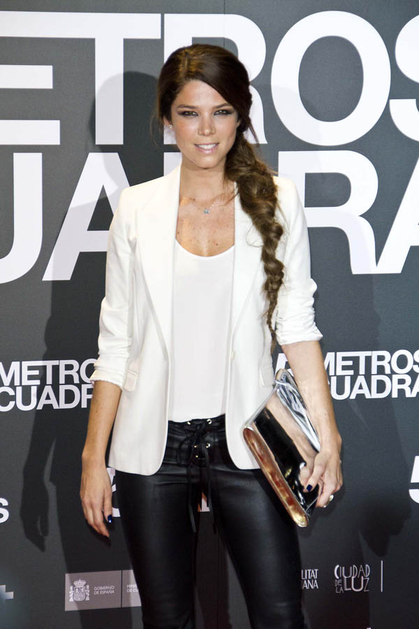 Juana Acosta at Cinco Metros Cuadrados premiere in Madrid
