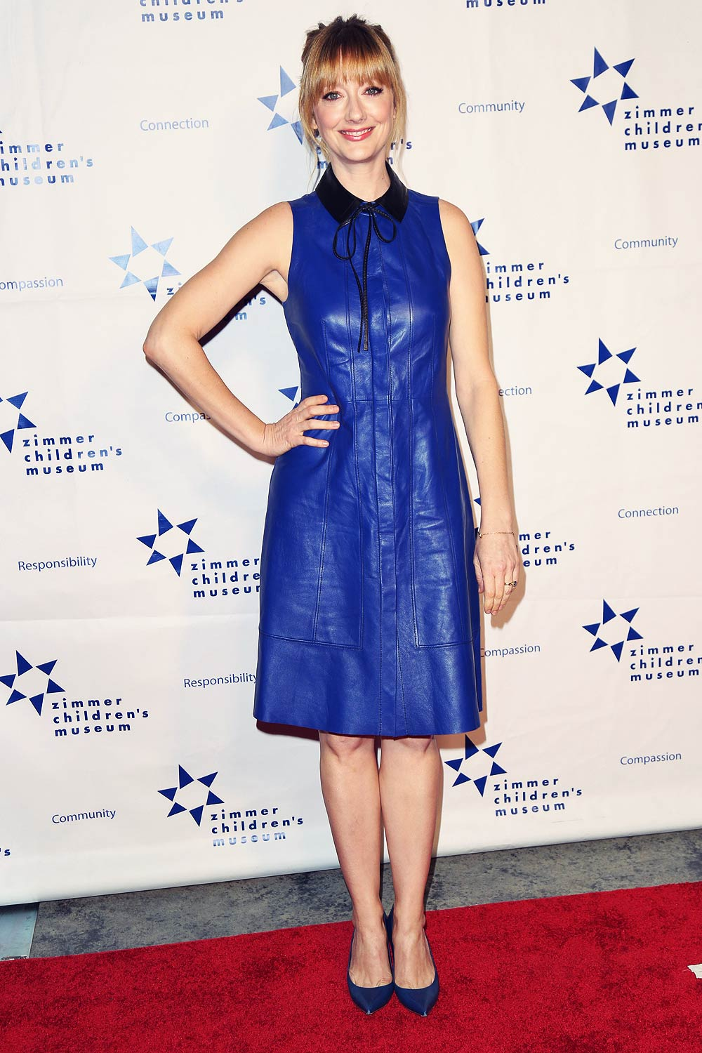 Judy Greer attends 15th Annual Zimmer Children's Museum Discovery Award Dinner