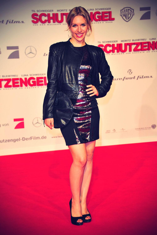 Julia Dietze at Schutzengel Premiere