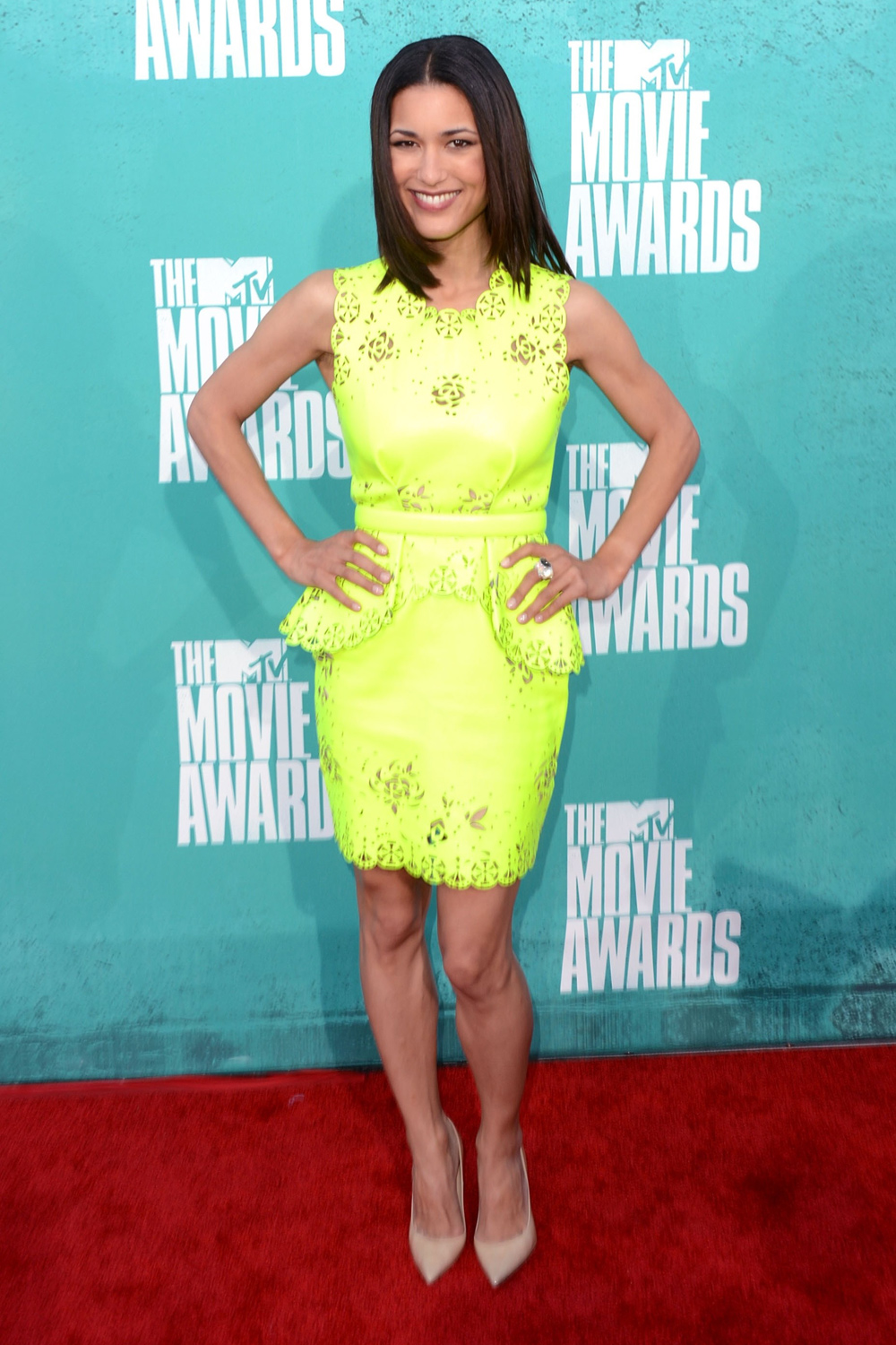 Julia Jones at MTV Movie Awards