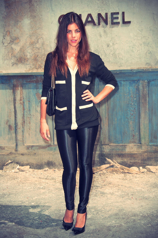 Julia Restoin-Roitfeld attends Karl Lagerfeld for Chanel